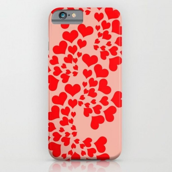 Fractal Of Love Printed Cover Case