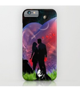 HAPPY VALENTINE Printed Cover Case