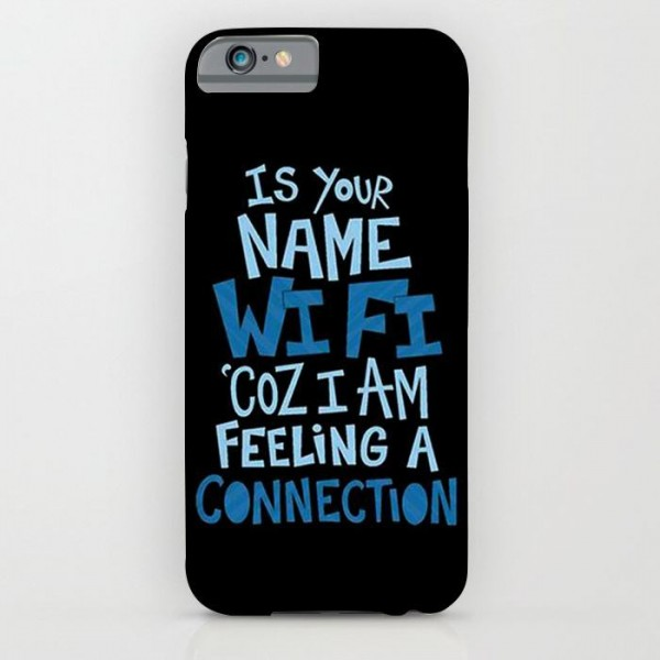 pretty nice 72e78 40411 is your name wifi art printed mobile cover case