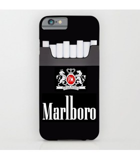 marlboro printed mobile cover