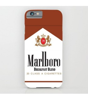 marlboro red printed mobile cover case