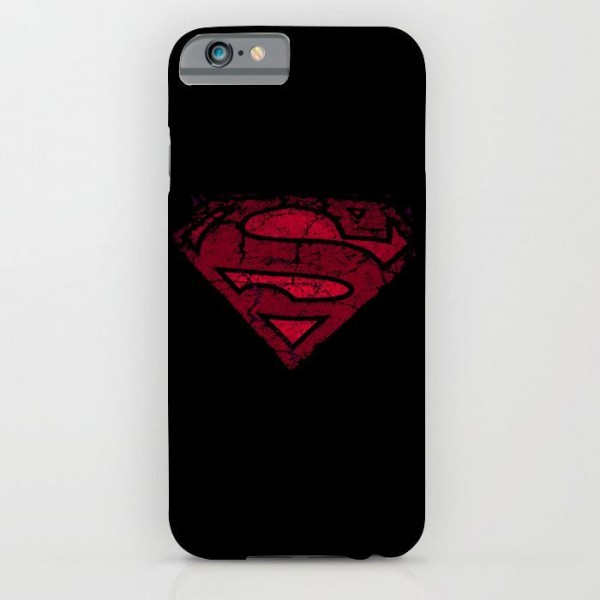 super man printed mobile cover case
