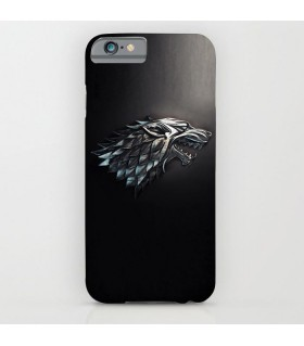 stark game of thrones art printed mobile cover