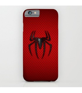 spiderman dot wall art printed mobile cover