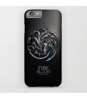 targaryen game of thrones art printed mobile cover