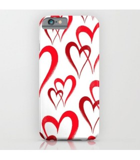 Valentine hearts Printed Cover Case