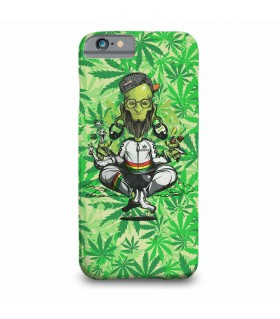 baba weed printed mobile cover