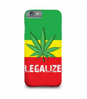 weed legalize printed mobile cover
