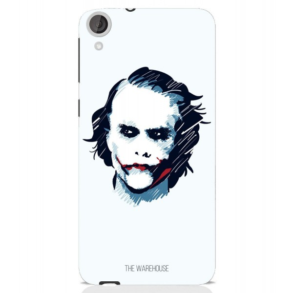 White Joker Cover Case