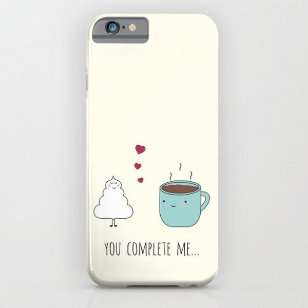 You Complete Me Printed Cover Case