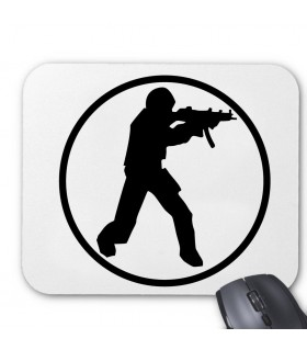 Counter Strike Printed Mouse Pad