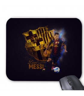 Messi Printed Mouse Pad