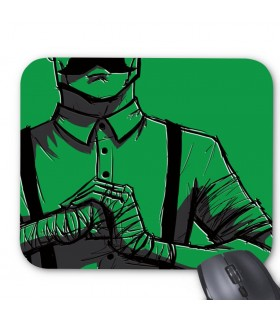 angry men printed mouse pad
