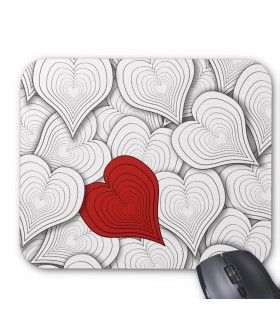 Onion Heart printed mouse pads