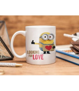 Bob Looking For Love Printed Mug