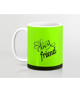 you are the best friend printed mug