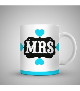 mrs art printed mug