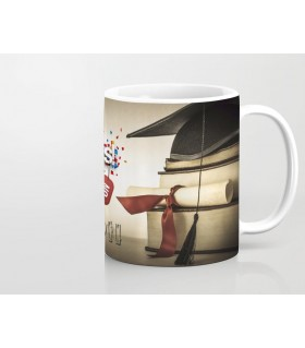 congratulation your graduates printed mug