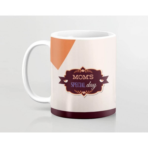happy mothers day mom special day art printed mug