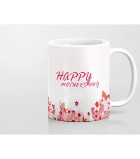 i love you mom happy mother day printed mug