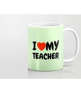 MY TEACHER PRINTED mug