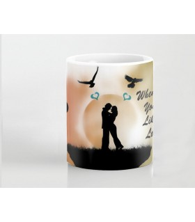 beautiful wifey printed mug
