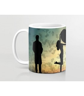 my love my happy wife prinetd mug
