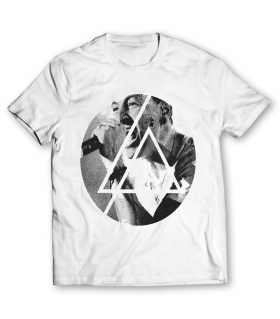 linkin park printed graphic t-shirt