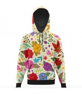 colorfull All Over Printed Hoodie
