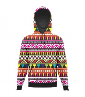 pine view all over printed hoodie