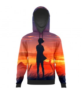 standing alone All Over Printed Hoodie