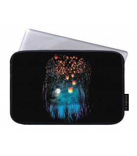 hope in the sky art printed laptop sleeves