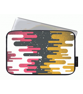 Telescope art printed laptop sleeves