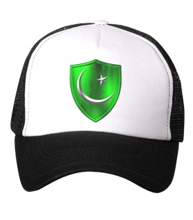 pakistan shield printed cap