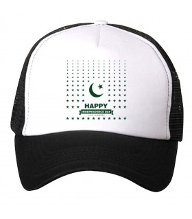 pakistan star printed cap