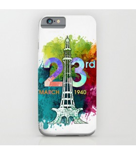 23rd march pakistan day printed mobile cover