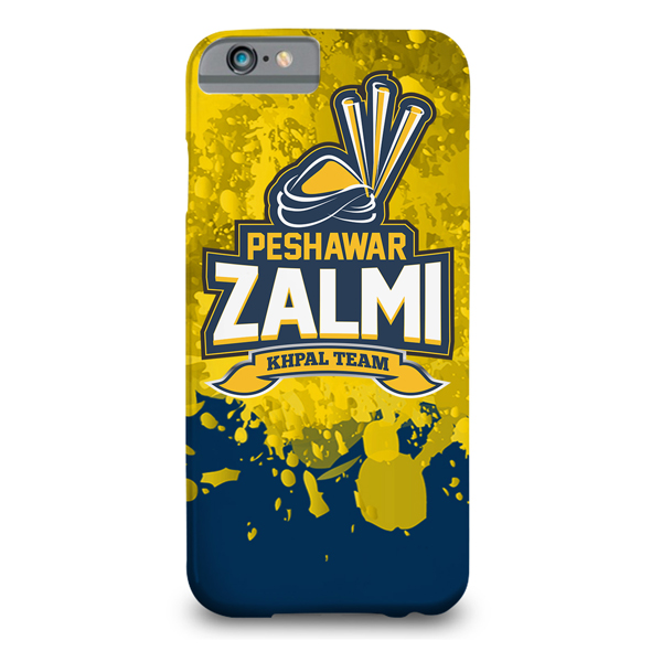 Peshawar zalmi printed mobile cover