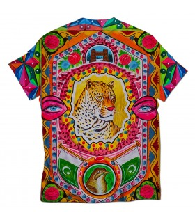 fasla rakhain all over printed t-shirt