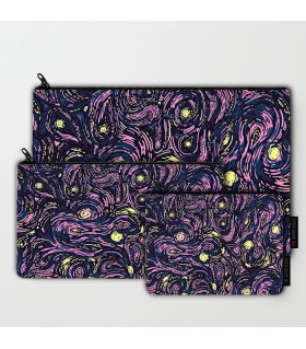 Starry Pattern art printed MAKEUP POUCH