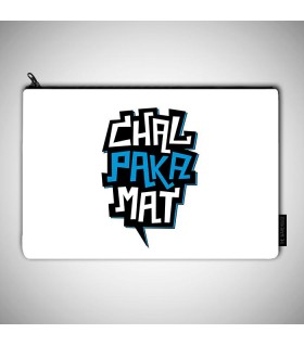 chal paka mat art printed pouch bag