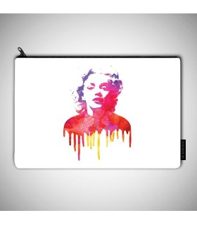 Marilyn art  printed pouch bag