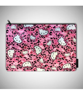 Cute Hello Kitty art printed pouch bag