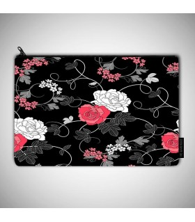 floral patter art printed MAKEUP POUCH