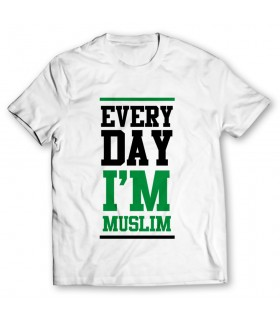 muslim printed graphic t-shirt