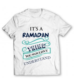 ramadan thing printed graphic t-shirt