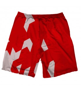 arsenal printed shorts