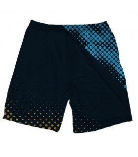 newcastle united printed shorts