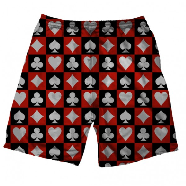 hearts spades printed shorts rs 1 899 price online