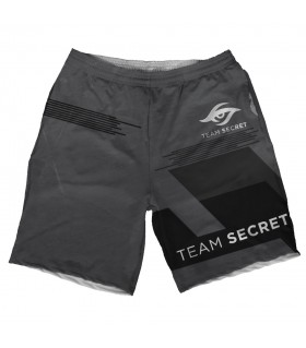 team secret printed shorts