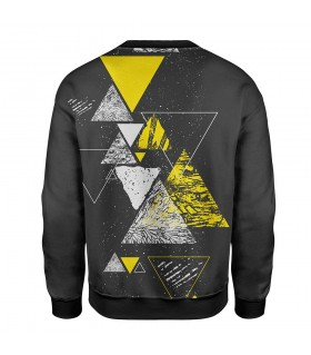 abstract printed sweatshirt